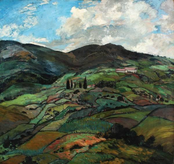 Alice Lolita Muth Mountain Landscape unframed