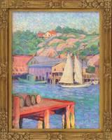 Grace Cochrane Sanger Harbor and Hillside