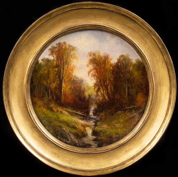 Wesley Webber  Autumn Stream Framed