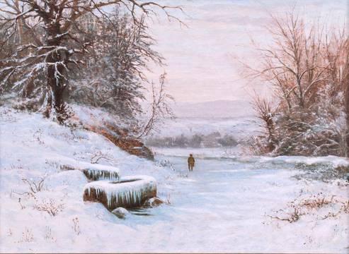 Edward Gay A Walk in Winter