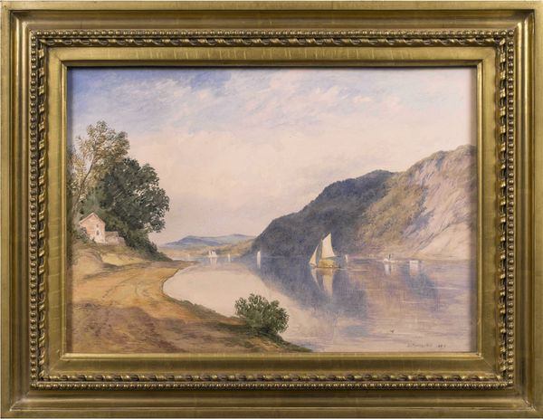John Henry Hill  In the Hudson Highlands Framed