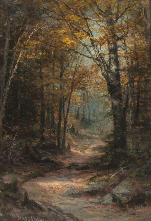 SUSIE M. BARSTOW  Autumn Clearing Unframed
