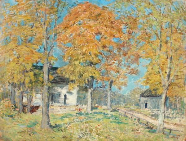 Clark Greenwood Voorhees Farmhouse in Autumn
