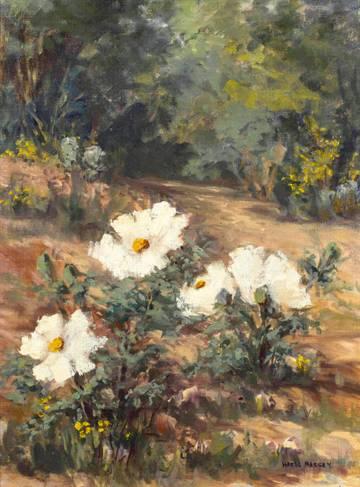 Hazel Massey Cherokee Roses unframed
