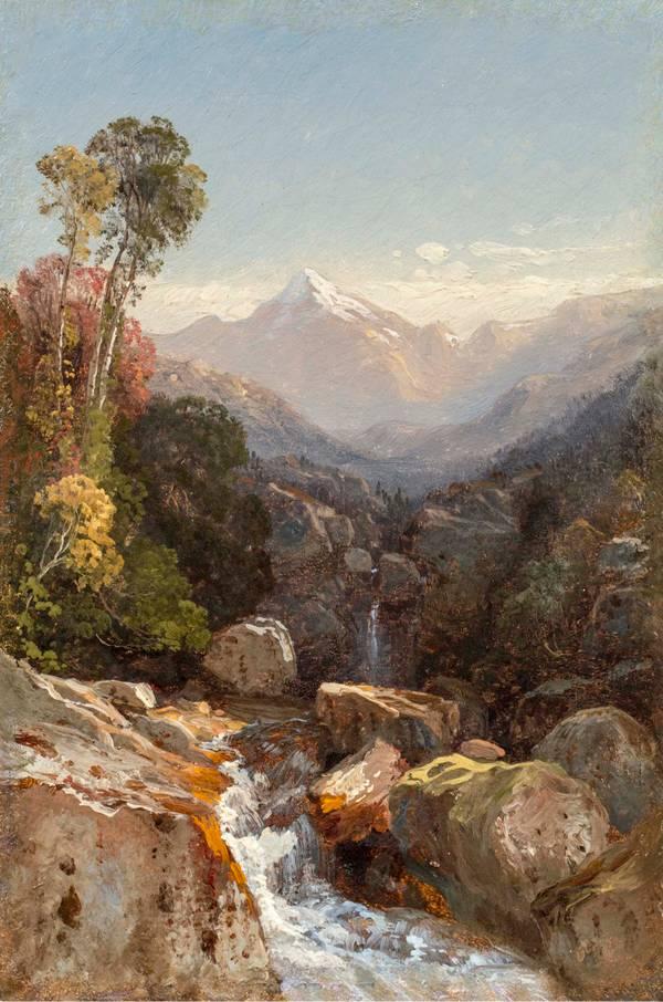 Samuel Colman In the White Mountains unframed