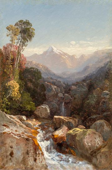 Samuel Colman In the White Mountains unframed