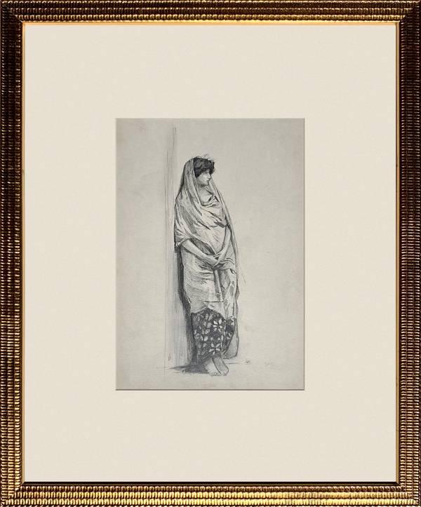 Mary Cummings Browne Woman Standing