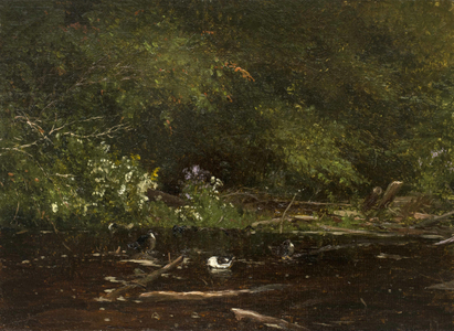 Jervis McEntee  Brook at Scribners (Catskills) Unframed