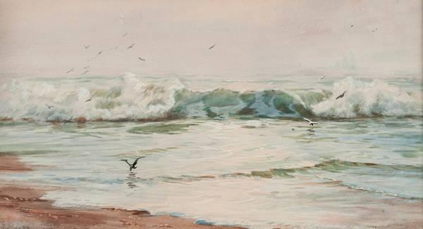 Addison T. Millar Seascape unframed