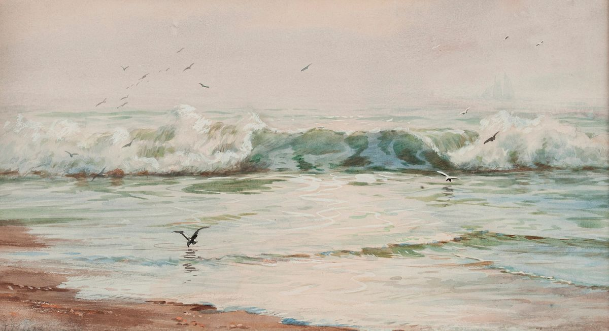 Addison T. Millar Seascape unframed