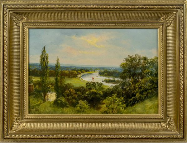 John Hardwicke Lewis View from Richmond Hill Framed