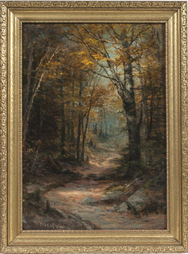 SUSIE M. BARSTOW  Autumn Clearing Framed