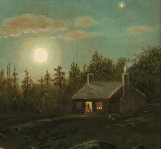 Clinton Loveridge Carriage by Moonlight Thumbnail