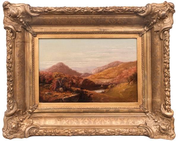 John Williamson Catskill Clove Framed