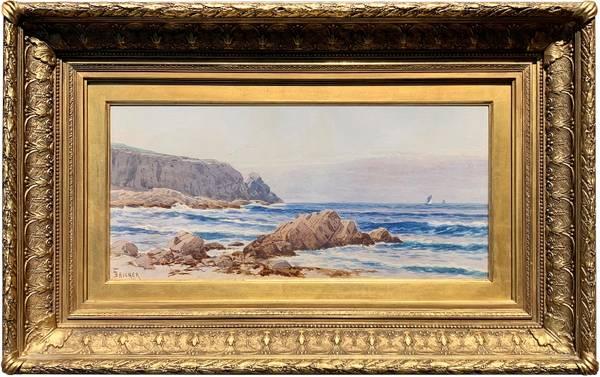 Alfred T. Bricher Coast of Grand Manan Island