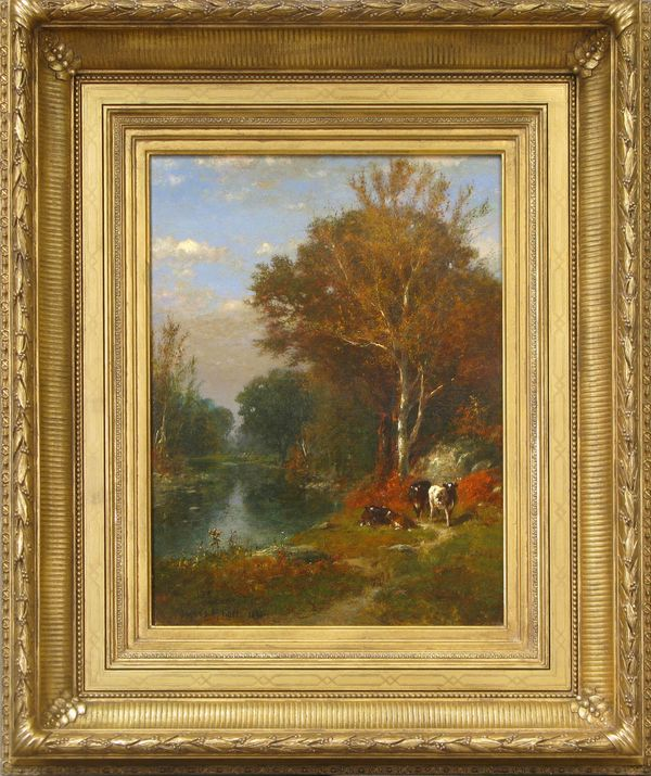 James McDougal Hart Fall Landscape