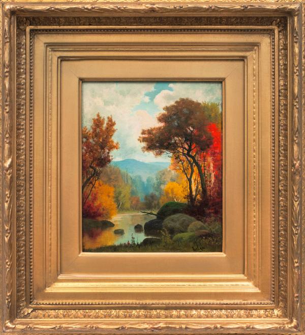 Charles Phelan Landscape in Autumn Framed