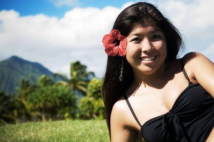 A classic Senior Portrait, Kauai style!