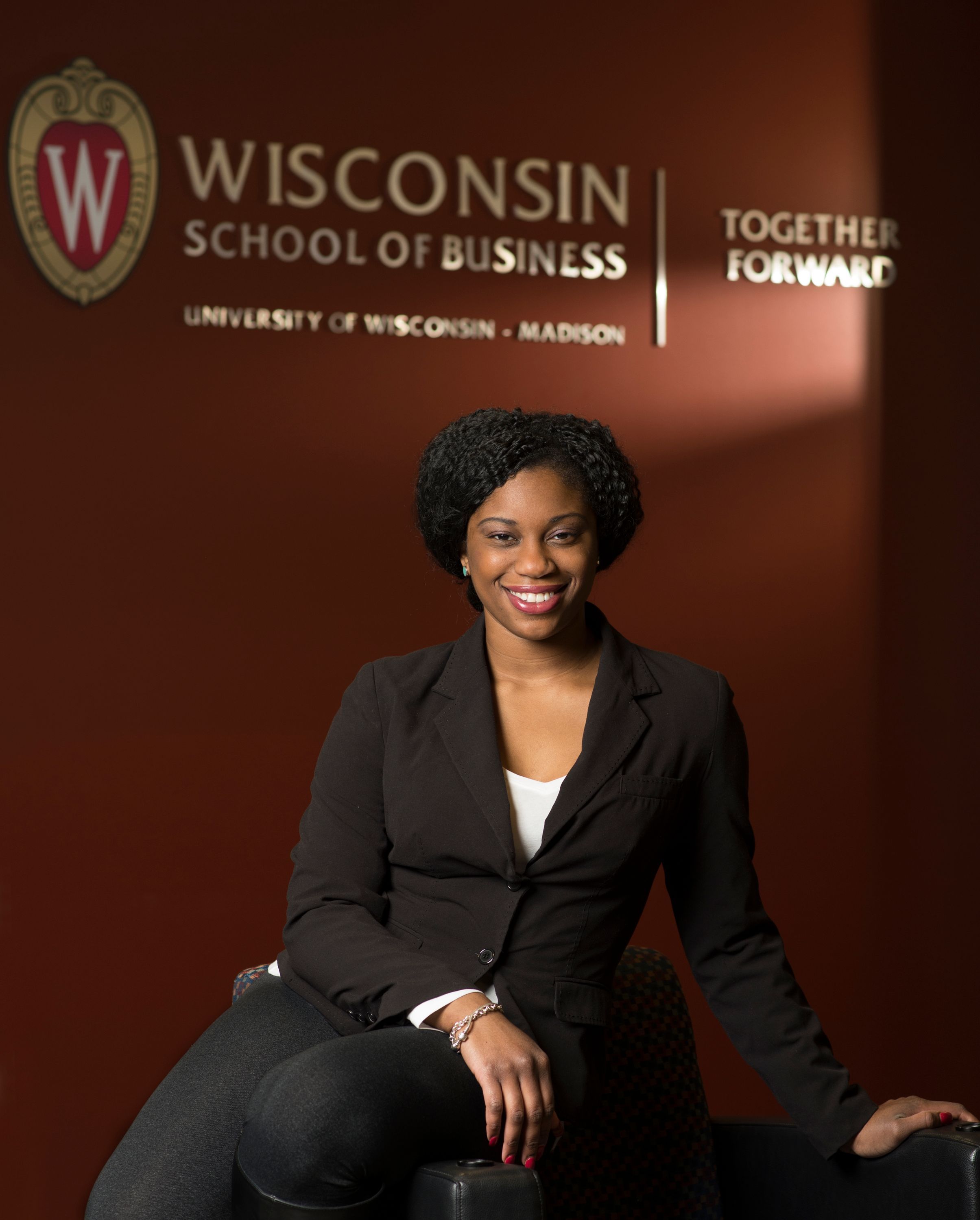 Full-time MBA Student Zena Stephens