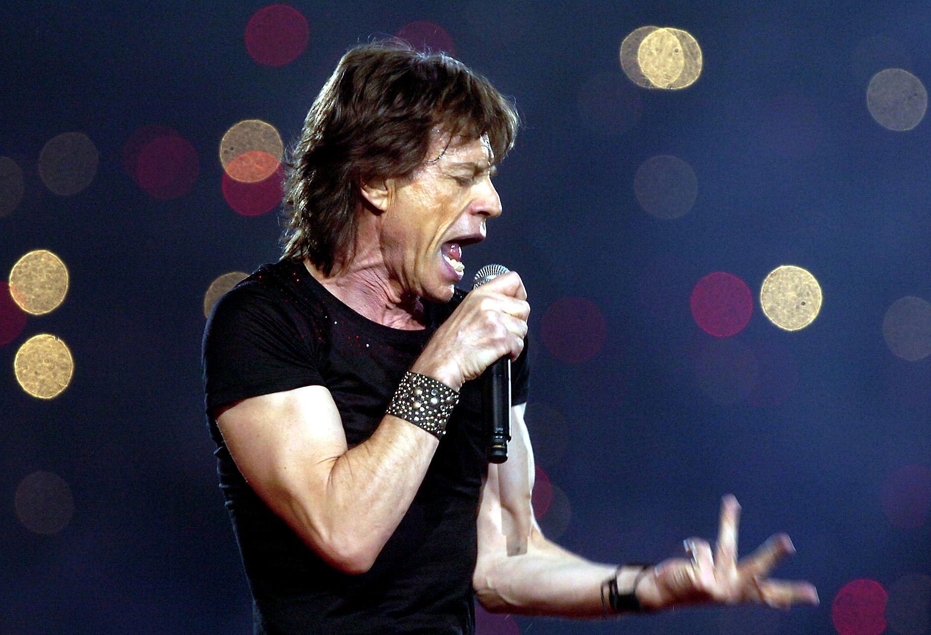Rolling Stones Mick Jagger, Super Bowl XL 2005