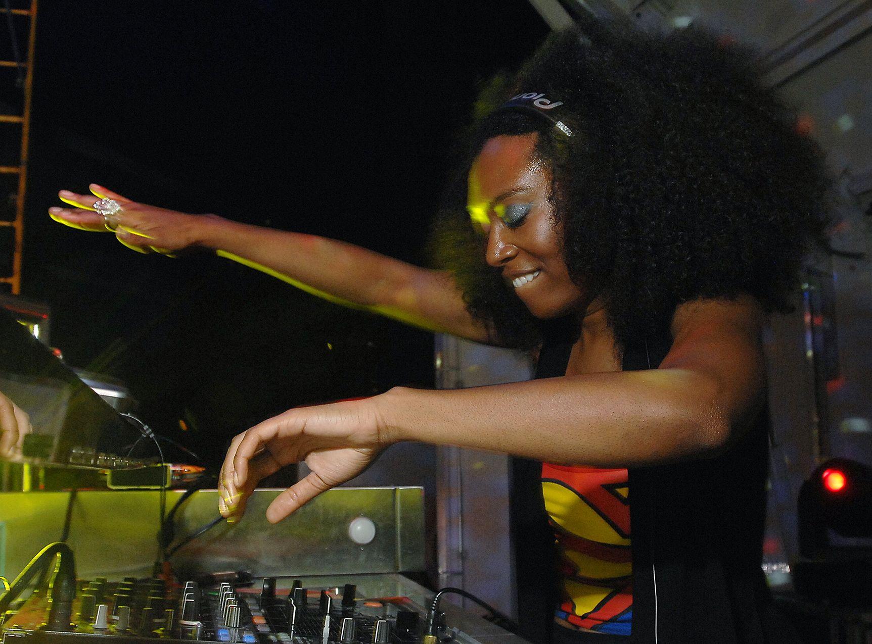DJ SuperDre aka Andrea Wallace