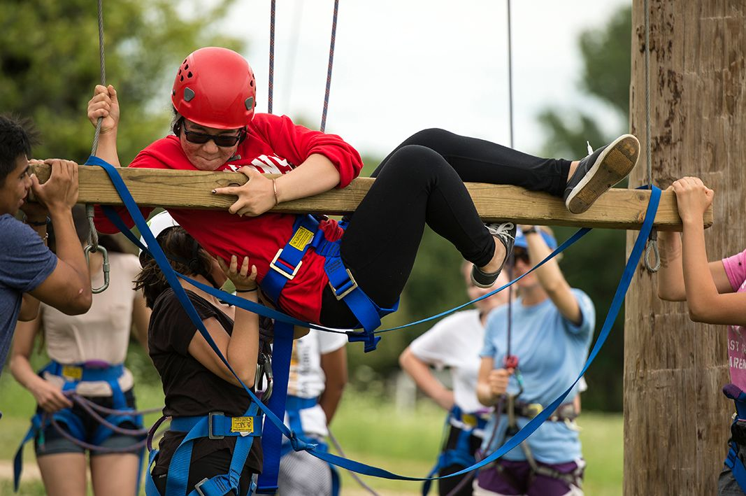 BEL Student Rope Course