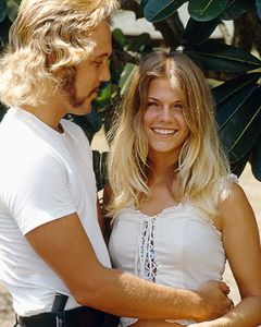 Bunker and Ellie, Wailua, Hawaii, 1973