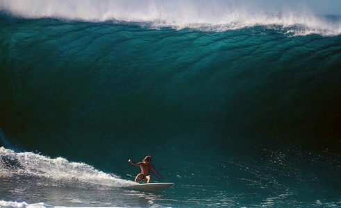 "Sammy Hawk , ""Big Monday"" Pipeline 1971"