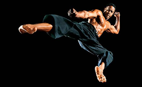 Michael Jai White, Muscle Fitness, Feature