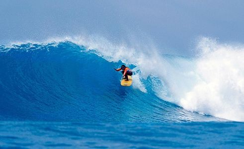 Mary Bagso, Northern Maldives, Surfing Girl Magazine