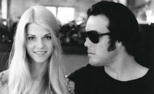 Ellie and Bunker, Paris Cafe, 1975