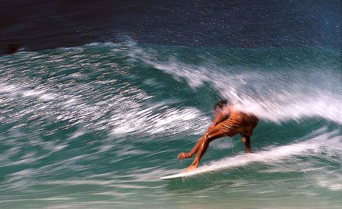 Herbie Fletcher, Full Speed inside Ehukai Beach Park, Hawaii 1969