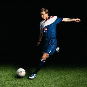 David Beckham, Pepsi Advertiseing and POP