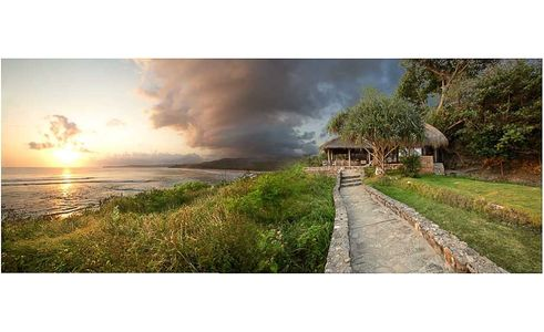 Overview from Nihiwatu Resort, Sumba, Indonesia