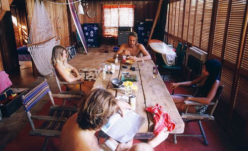Bunker, At the Haena House, Kauai, 1974