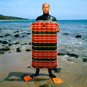 CR Stecyk III , Artist, Photographer, Surfer, Secos, Ca. 1991 , Esquire Magazine
