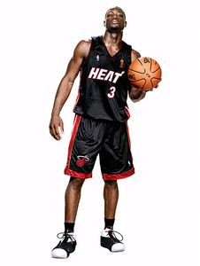 Dwayne Wade, NBA Player, Propel Fitness Water
