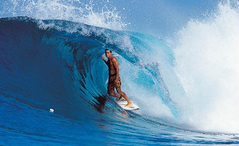 Kelly Slater 9 Time World Champion Surfer, Hallow Tree's, Mentawais, Indonesia 1999