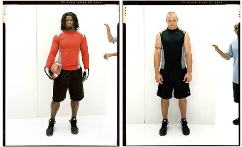 Ricky Williams , Brian Urlacher, NFL Players, Nike Football