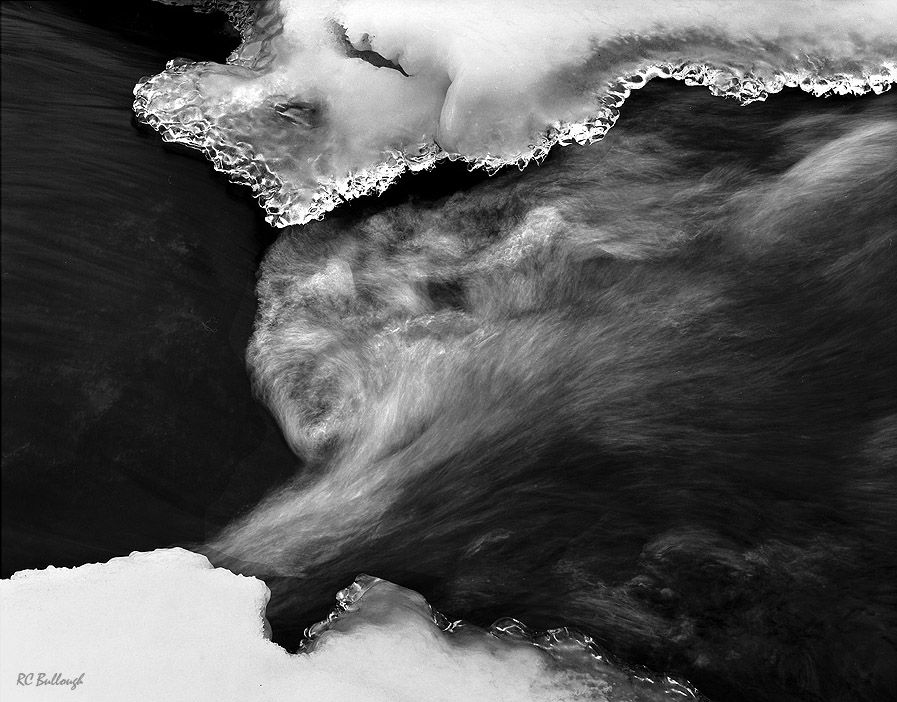 Winter Ice and Turbulence