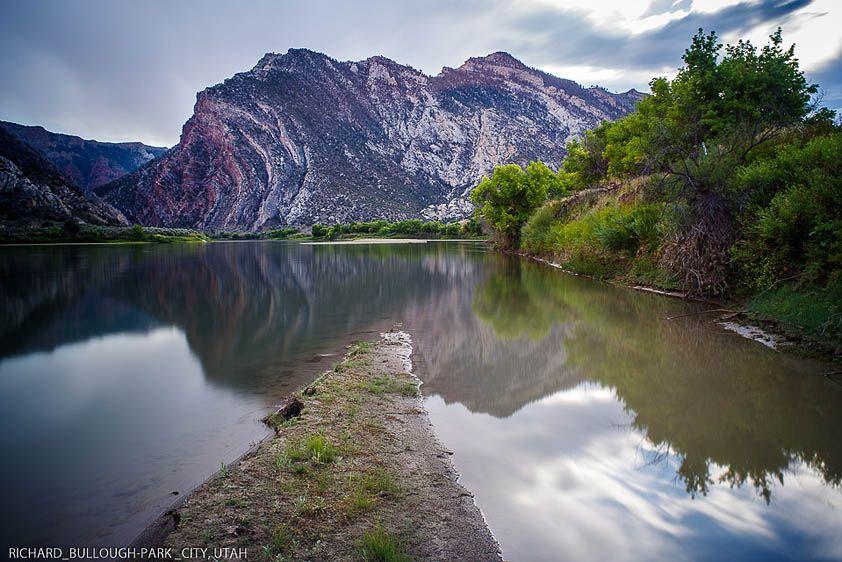 Split Mountain on the Green River, Utah