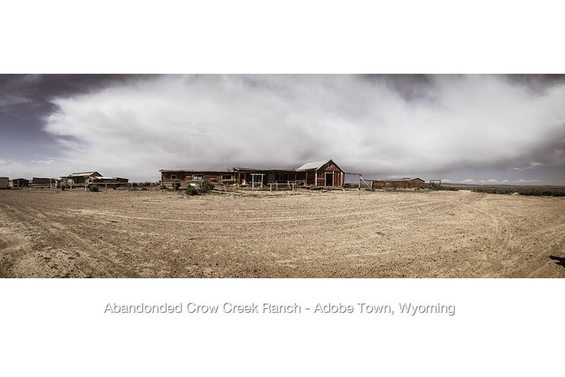 Crow Creek Ghost Ranch ~ Adobe Town, Wyoming