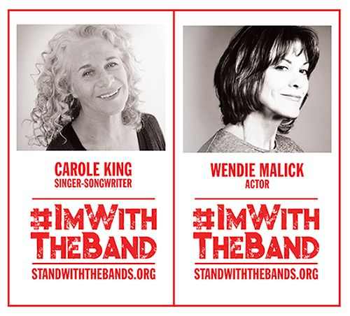 Carole King and Wendie Malick