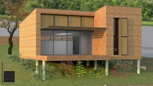 E01 - Esquisse maison de campagne