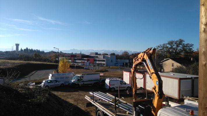 Maison des services intercommunaux, Fousseret 31. Assistance au suivi de chantier MOE
