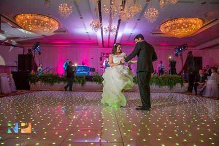 First Dance, ballroom destination wedding