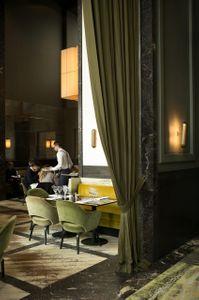 Monsieur Bleu restaurant designed by Joseph Dirand