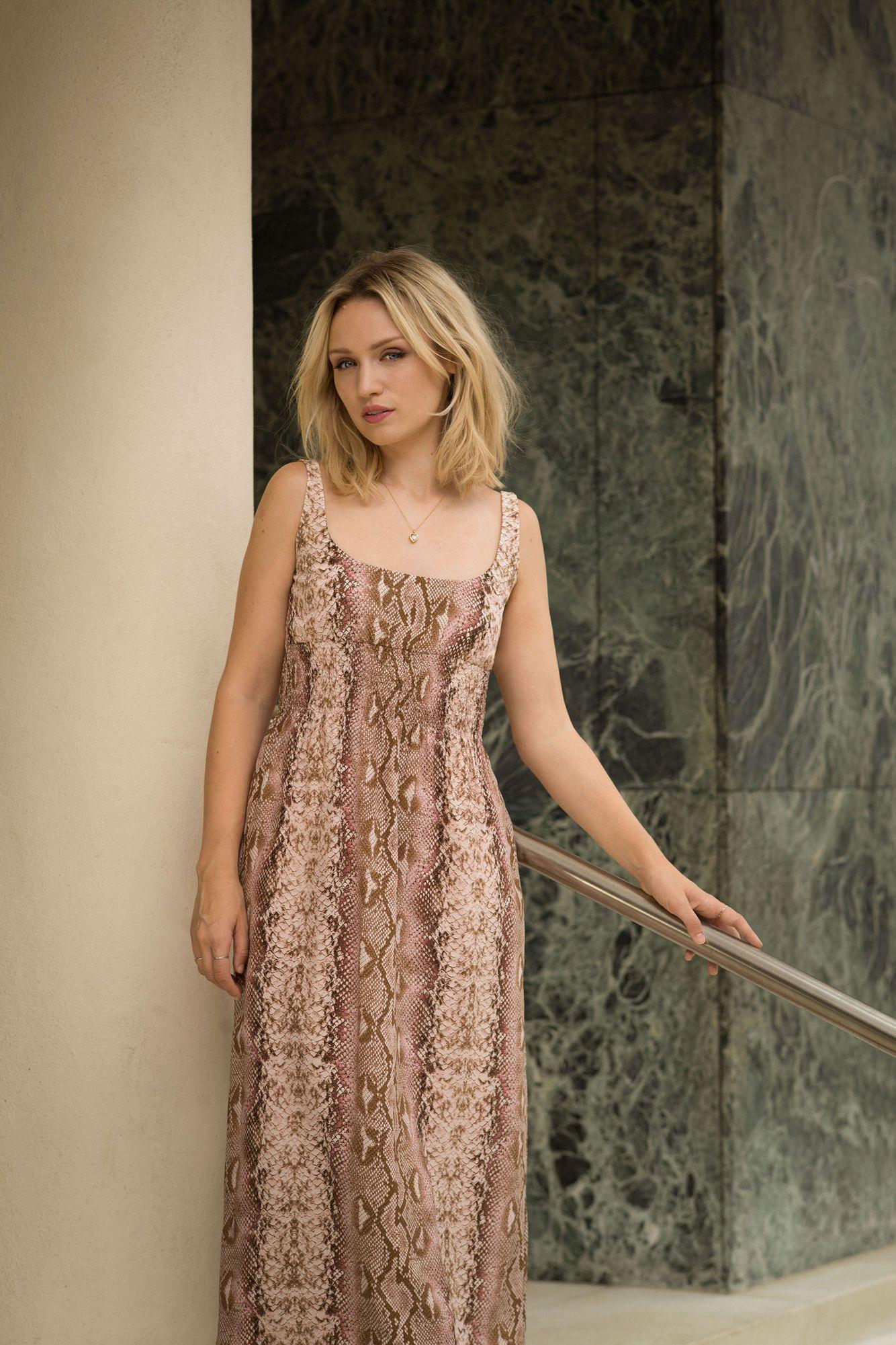 Actress Emily Berrington