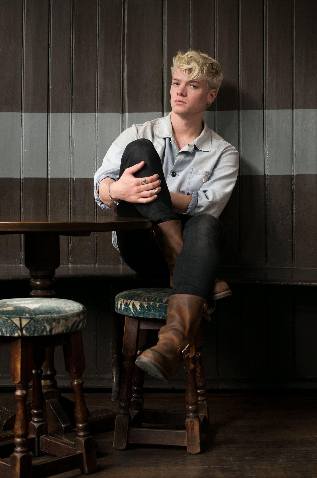 Actor Tom Rhys Harries