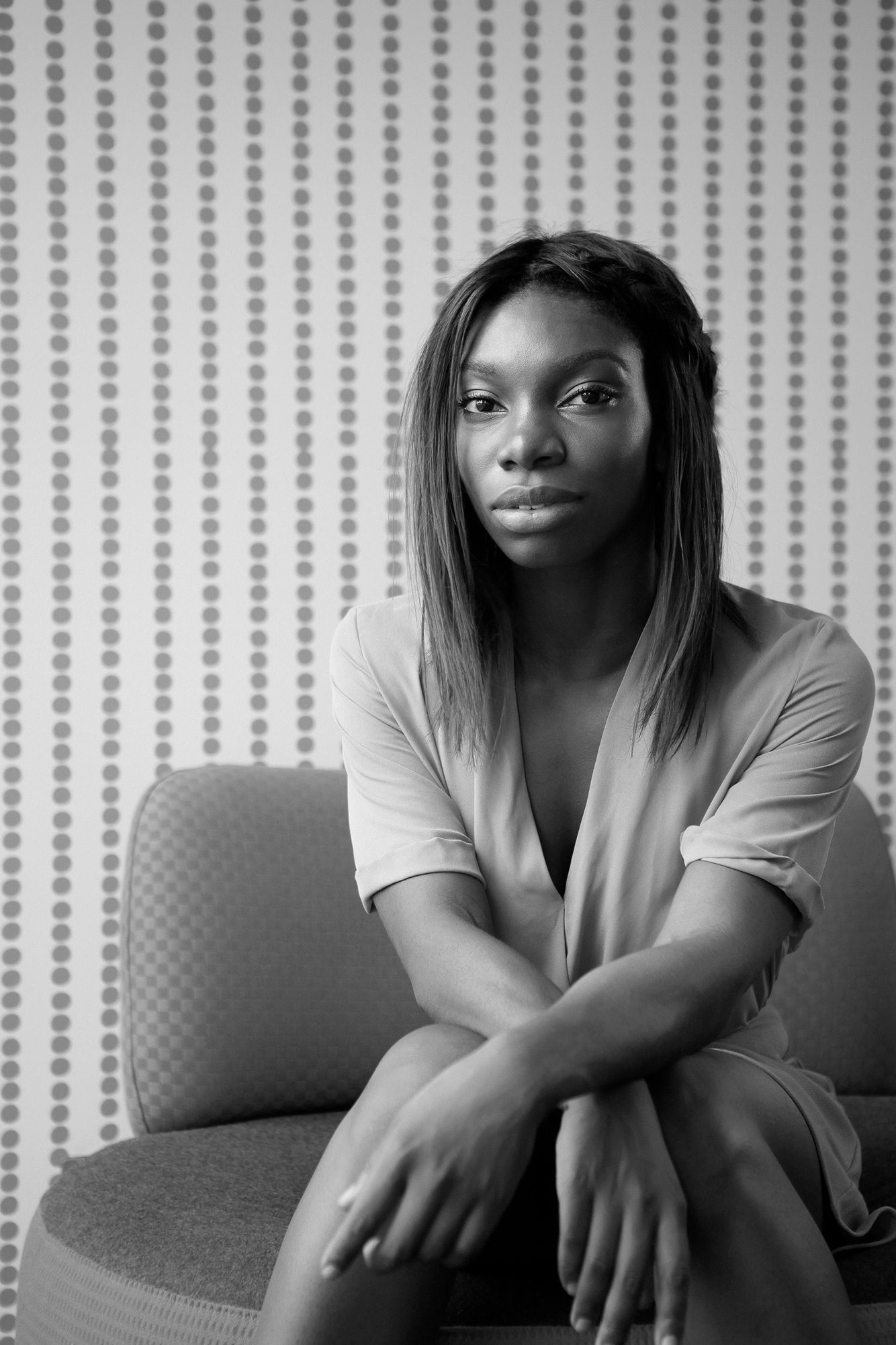 Actress, writer and singer Michaela Coel